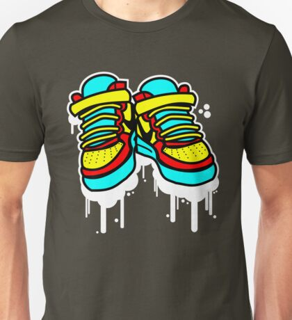 Primary High Tops Unisex T-Shirt