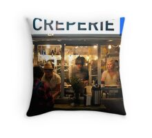 late shift Throw Pillow