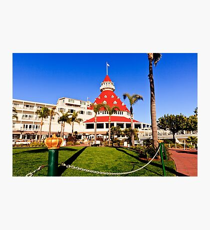 Hotel Del Coronado Photographic Print