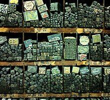 Chinese Metal Type by Winnie L.