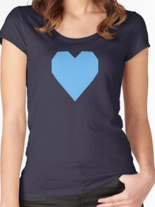 Maya Blue  Women's Fitted Scoop T-Shirt