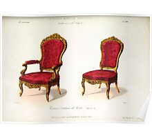 Le Garde Meuble Desire Guilmard 1839 0239 High Style Seat Furniture Interior Design Poster