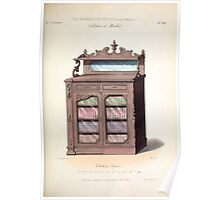 Le Garde Meuble Desire Guilmard 1839 0071 High Style Case Furniture Interior Design Poster