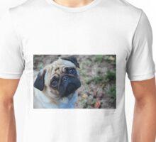 Pensive Pug Unisex T-Shirt