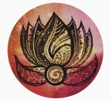 Coloured lotus  by Emilie Desaunay