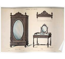 Le Garde Meuble Desire Guilmard 1839 0051 High Style Case Furniture Interior Design Poster