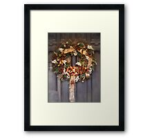 Victorian Christmas Framed Print