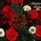 Christmas Flowers by Sandy Keeton