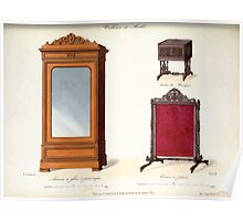 Le Garde Meuble Desire Guilmard 1839 0249 High Style Case Furniture Interior Design Poster