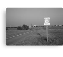 Route 66 - Oklahoma Canvas Print