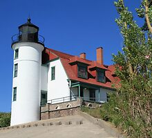 Point Betsie Lighthouse by leftwinger7