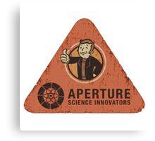 Apreture Science innovators Canvas Print