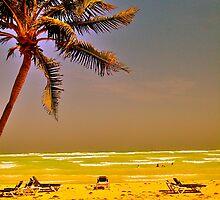 Abandoned Beach by kim powell