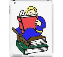 Fallout- Vault Boy Reads iPad Case/Skin