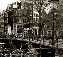 Amsterdam BIkes by kim powell