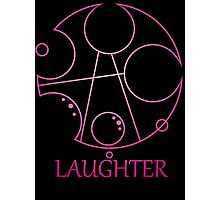 My Little Timelord - Laughter Photographic Print