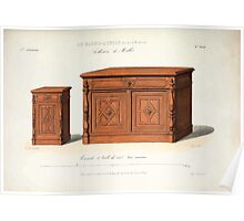 Le Garde Meuble Desire Guilmard 1839 0125 High Style Case Furniture Interior Design Poster