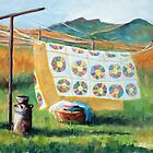 """Fresh from the Clothesline"" by Mary Giacomini"