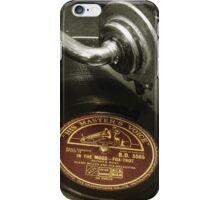 Put the needle on the record iPhone Case/Skin