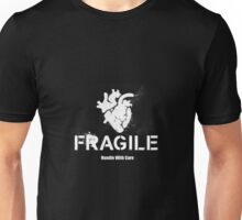 Fragile Anatomical Heart (INVERTED) Unisex T-Shirt