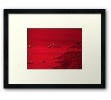 CHRISTMAS ON MARS Framed Print