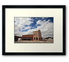Erick, OK - Sheb Wooley Avenue Framed Print