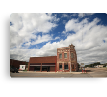 Erick, OK - Sheb Wooley Avenue Canvas Print
