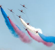 The Red Arrows  by Rob Hawkins