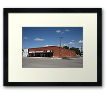 Erick, Oklahoma - Sheb Wooley Avenue Framed Print