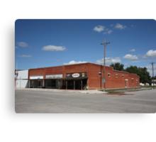 Erick, Oklahoma - Sheb Wooley Avenue Canvas Print