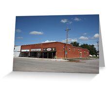 Erick, Oklahoma - Sheb Wooley Avenue Greeting Card