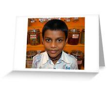 Spice Boy Greeting Card