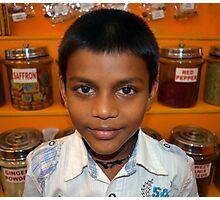 Spice Boy Photographic Print