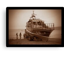 Scarborough Lifeboat Canvas Print