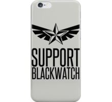 Support Blackwatch iPhone Case/Skin