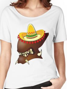 Mexican Alien Sombrero Women's Relaxed Fit T-Shirt
