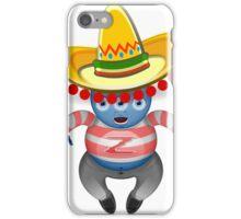 Mexican Alien Sombrero iPhone Case/Skin