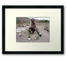 Out of Africa (Nieu Bethesda) Framed Print