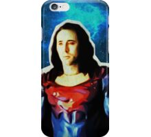 Nic Cage - Superman (Space) iPhone Case/Skin