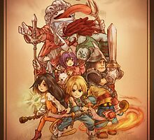 FFIX - Tribute by Dice9633