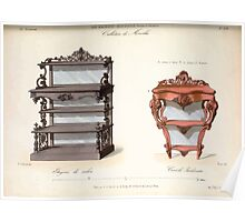 Le Garde Meuble Desire Guilmard 1839 0251 High Style Case Furniture Interior Design Poster