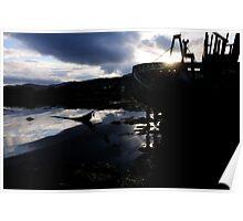 Abandoned Boat - Salen, Mull Poster