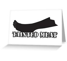 TWD Zombie Tainted Meat Greeting Card