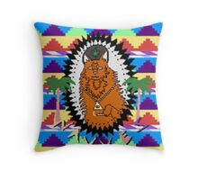 The Wavves (Retro) 8-Bit Edition  Throw Pillow