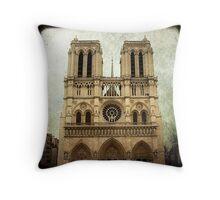 Notre-Dame de Paris Throw Pillow