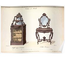 Le Garde Meuble Desire Guilmard 1839 0253 High Style Case Furniture Interior Design Poster