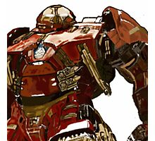 finger painted Hulkbuster Photographic Print
