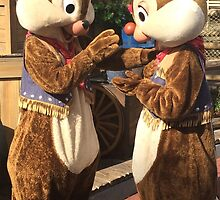 Chip and Dale by abuehrle