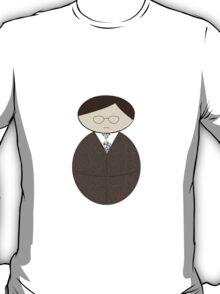 Salaryman Kokeshi Doll T-Shirt