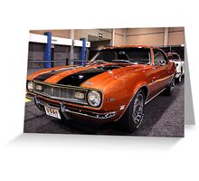 1968 Camaro Z/28 Greeting Card